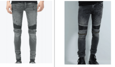 $3 Million Lawsuit Alleges Zara Copied Amiri's Men's Biker Jeans