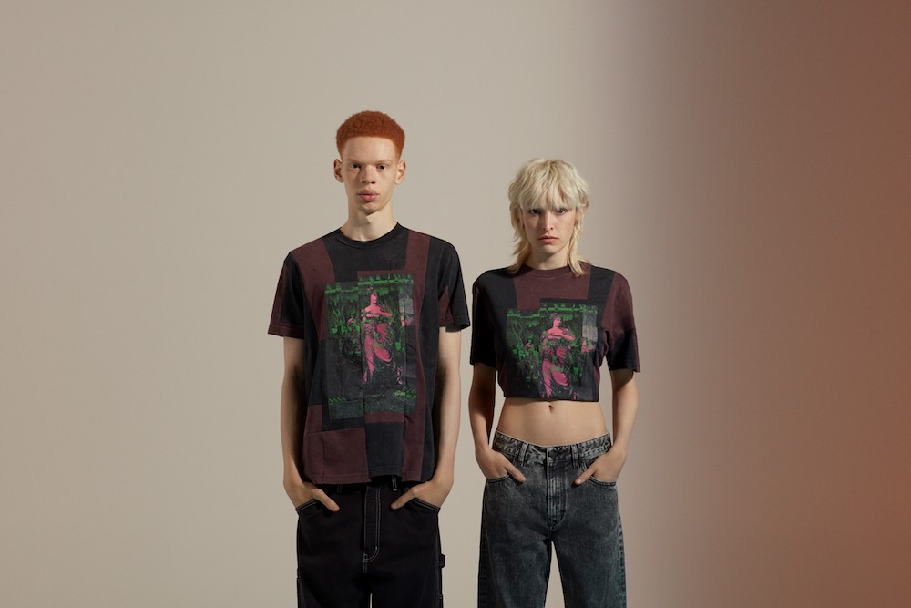 Diesel Upcycling For 55DSL puts a creative spin on geadstock garments.