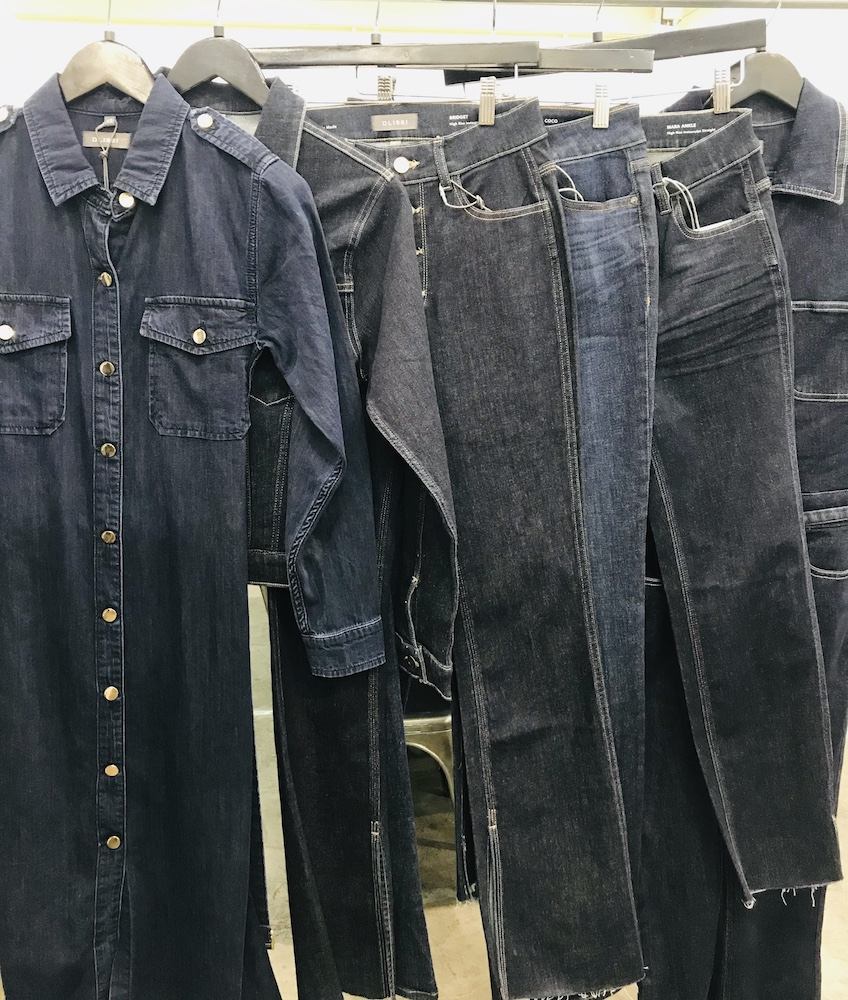 Men's and dual-gender brands displayed sustainable denim and purpose-led jeans in the Denim Room at Project Las Vegas.