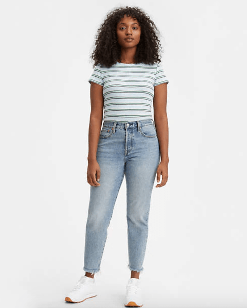 """If you want to participate in DaniLeigh's """"Levi High"""" Instagram challenge, try some of these top Levi's jeans."""