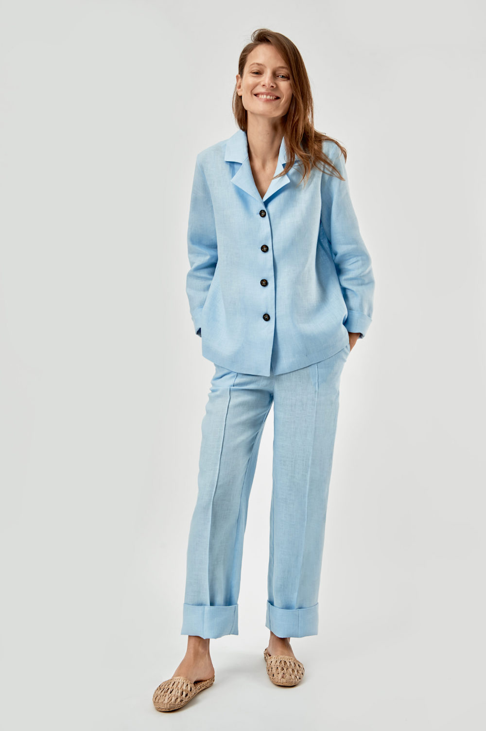 """The """"Sunday suit"""" offers comfort and style."""