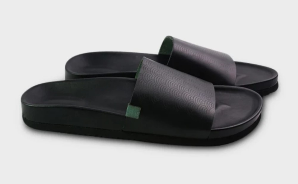 ComunityMade's Palmetto slide retails for $100 on the brand's site.