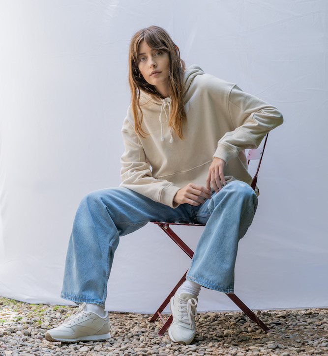 Levi's introduced Tuesday its most sustainable jean—a product of over five years of research in circular denim design and a partnership with Swedish recycling textile technology startup Re:newcell.