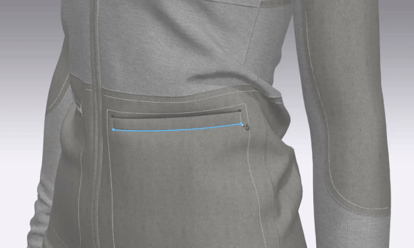 Chargeurs*PCC has partnered with 3D garment simulation technology CLO to let designers add interlinings directly into their virtual designs.