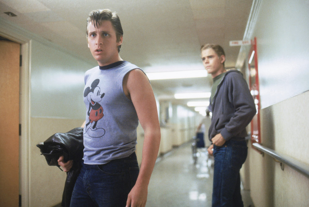 "Nod to everyone's favorite required reading, ""The Outsiders,"" with a greasers-themed group costume."