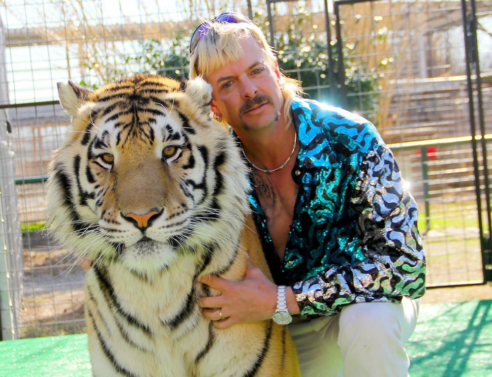Now fans can channel the same energy of the film's star Joe Exotic with a big cat-themed costume that will have everyone talking.