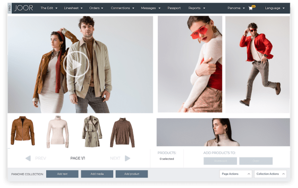 The Edit, a styleout function where brands can visually collaborate with their buyers and edit assortments down to final selections.