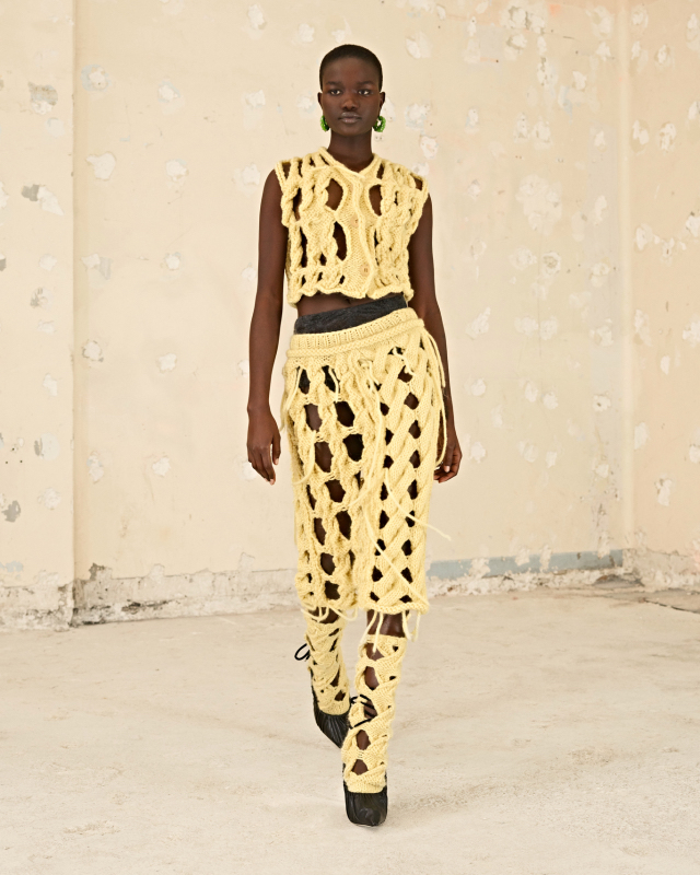 Designers are romanticizing the pre-digital world with fashion that beckons a return of artisanal elements, soft colors and prints that evoke a pastoral mood.