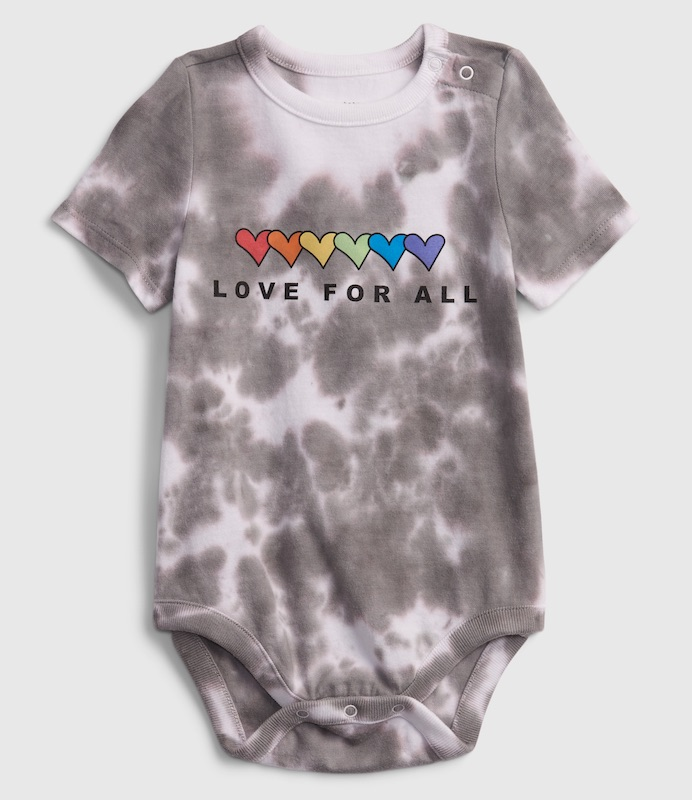 Gap tapped artists from G.E.A.R., its employee resource group that promotes an inclusivity, to design tees for Pride Month.