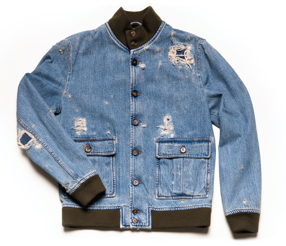 Candiani Denim and Valstar teamed on a micro collection of chore coats and bomber jackets that pay homage to Italian heritage designs.