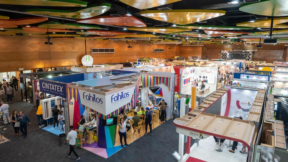 Colombiamoda and Colombiatex are being hosted at the same venue in July 2021.