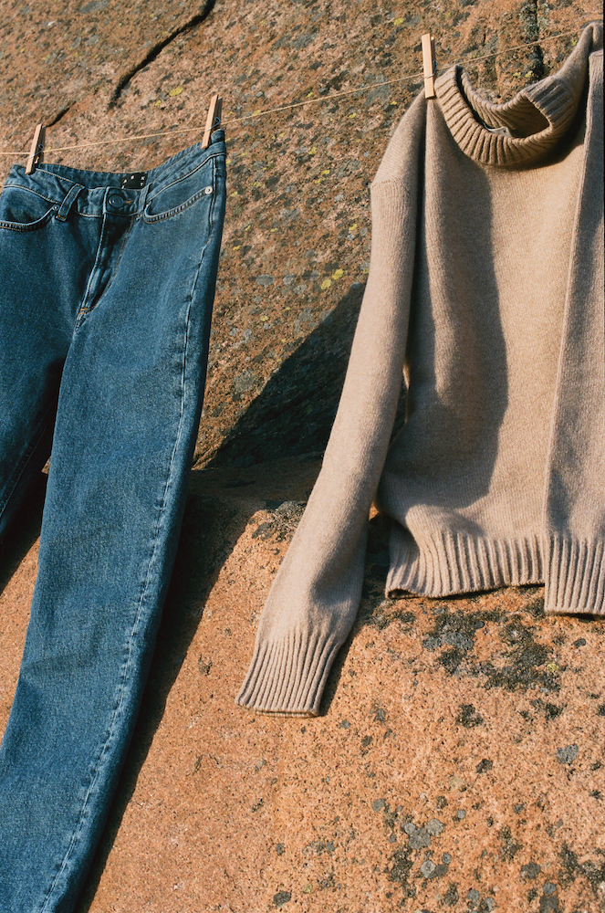 Transparent apparel brand Asket announced it is launching its first women's collection, including jeans made with biodegradable elastane.
