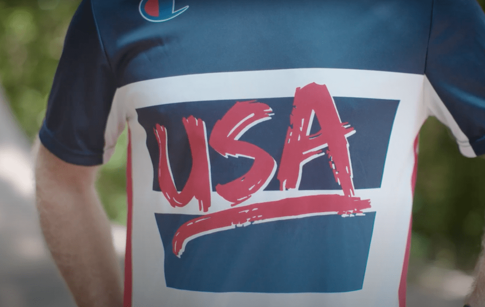 Levi's and Champion worked with USA Cycling to become the official apparel provider for the BMX Freestyle National Team.