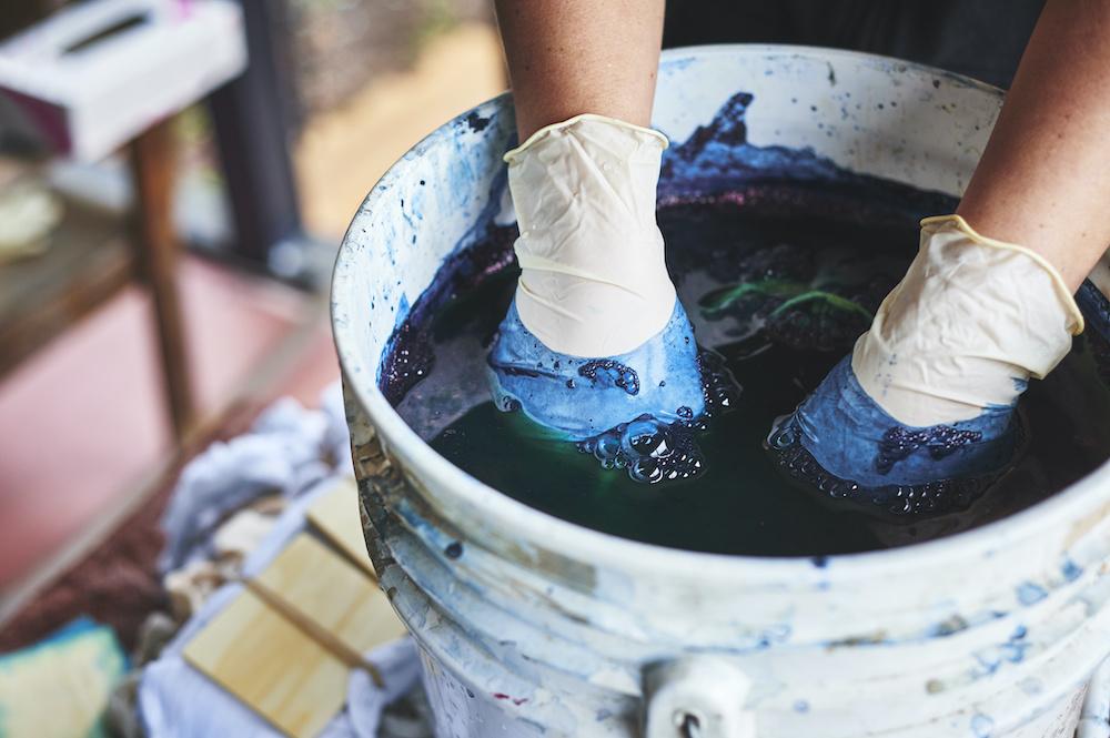 Scientists Use Bacteria to Make Sustainable Indigo Dye