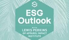 ESG Outlook: Lewis Perkins of Apparel Impact Institute on Scaling Impact Goals
