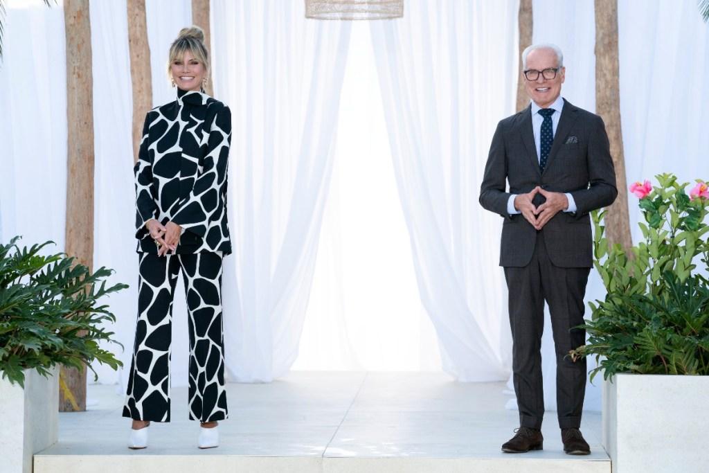 "Heidi Klum and Tim Gunn return to host season two of ""Making the Cut"" on Amazon Prime Video."