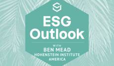 ESG Outlook: Ben Mead of Hohenstein on Putting Data Behind Sustainability Claims