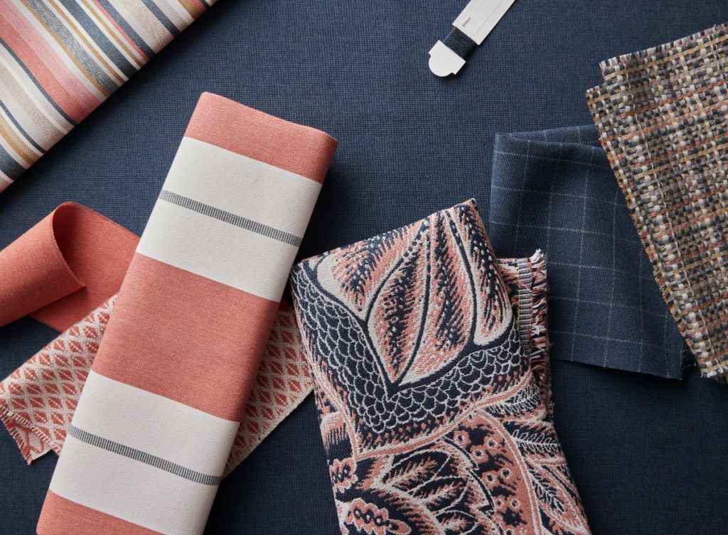 Sunbrella Emerge Collection highlights outdoor fabric and textile color trends