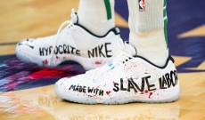 NBA Player Accuses Nike of Profiting From 'Slave Labor'