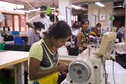 Clothing factory in Colombo, Sri Lanka (photo by Paul Prescott)