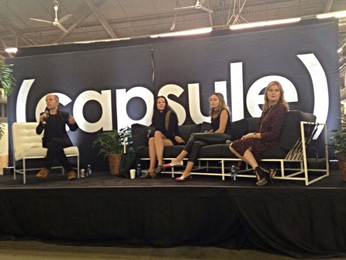 Capsule show panel discussion with Reformation, Havas LuxHub and Farfetch