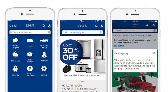 Sears mobile app