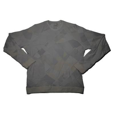 Daniel Silverstein zero-waste design sweatshirt