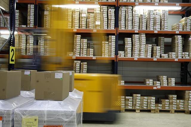 Warehouse photo from Pixabay