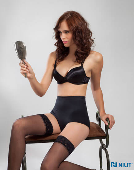 Premium lingerie made with Nilit Nylon 6.6 fibers (Image - Nilit)