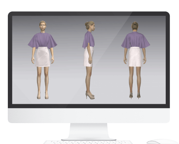 Clo 3-D virtual design software for apparel industry