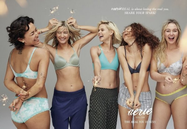 Aerie Share Your Spark Campaign
