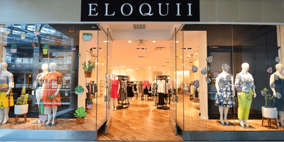 Eloquii e-commerce to physical store