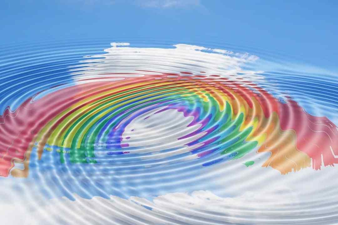 arc en ciel vibratoire