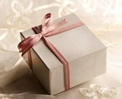 結婚式の二次会のプレゼント