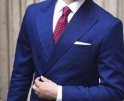 結婚式のスーツはダブル