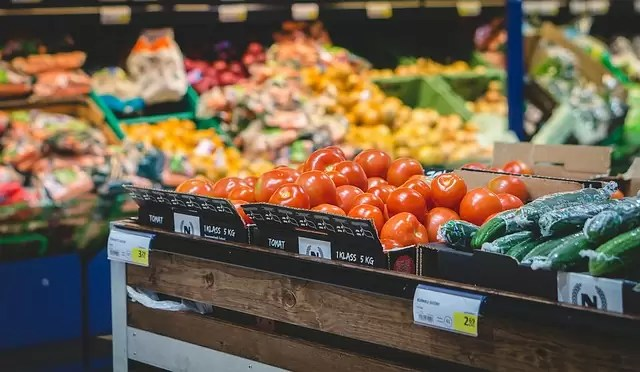 grocery store, supermarket, vegetable