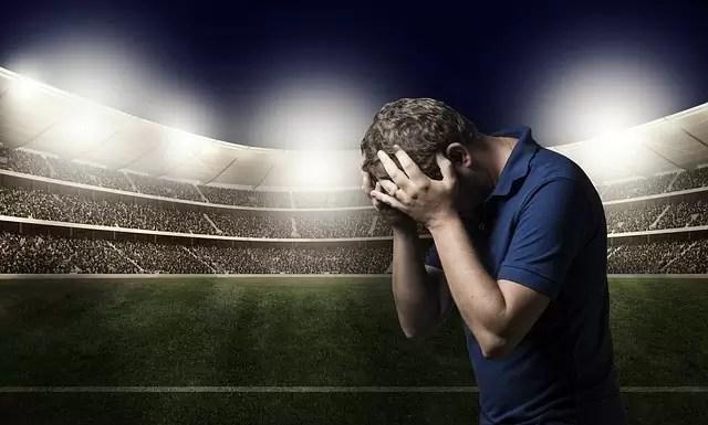 sadness, defeat, loss