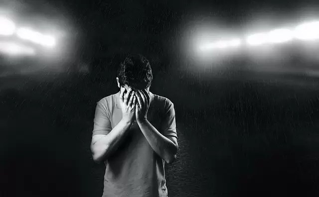 sad, man, depressed