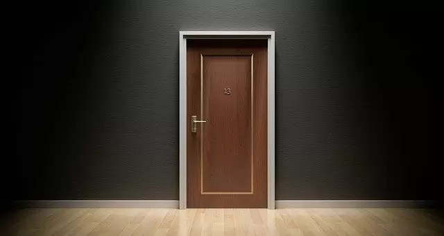 door, bad luck, 13