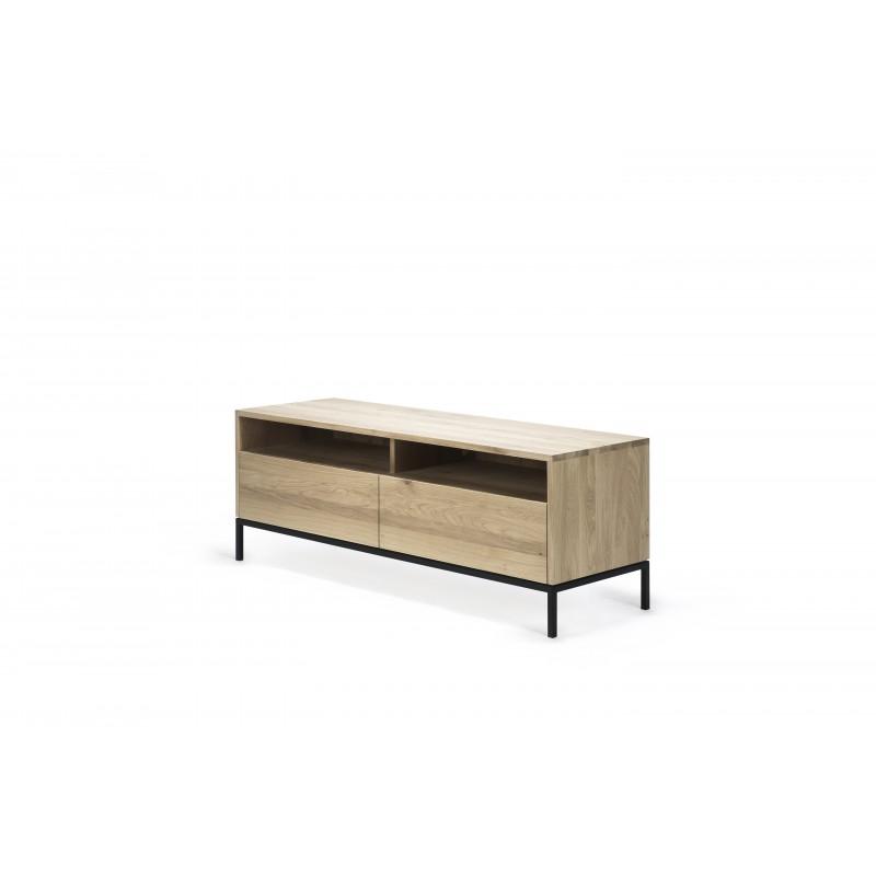 meuble tv ligna chene dimension 140