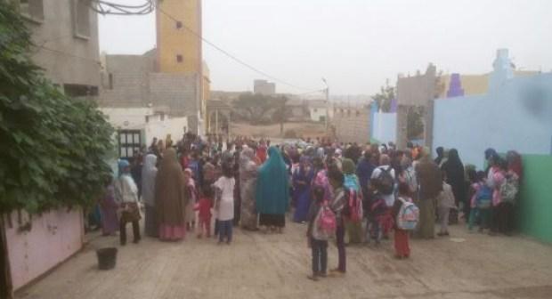 احتجاج بأكادير بسبب الوضعية الكارثية لمؤسسة تعليمية