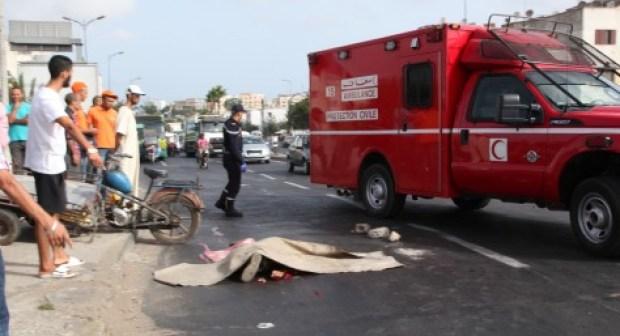 أيت بها: مقتل إمام وإصابة ثان في حادث سير مروع