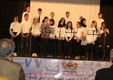 مهرجان ربيع وزانللآداب واللغات بالمؤسسات التعليمية