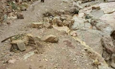 بعد انهيار الطريق الرئيسية…ساكنة إداوتنان تستنكر التهميش والعزلة
