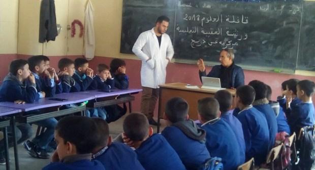 قافلة العلوم 2018 تحول رحاب مدارس عين دريج إلى مختبر علمي مفتوح.