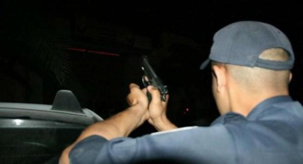 """تينغير: مقاومة بزنازة لرجال الأمن ب""""الكروموجين"""" تنتهي بإطلاق الرصاص في الهواء"""