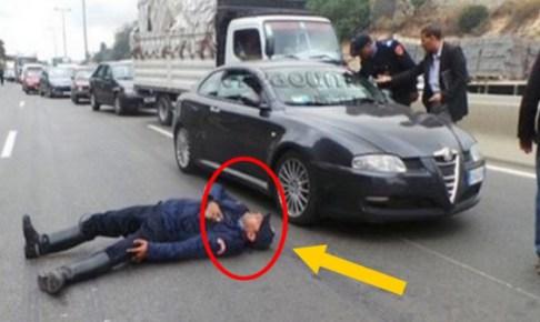 بوليسي ينتحر بالشارع العام بسلاحه الوظيفي