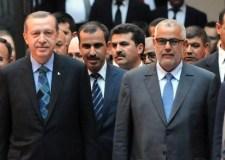 أردوكان يهاجم حزب بنكيران في التلفزيون التركي