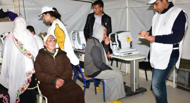 تافراوت: 2000 شخص يستفيدون من قافلة طبية بآيت وافقا