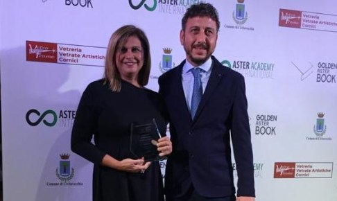 """سعاد السباعي تنال جائزة """"الكتاب الذهبي"""" لأكاديمية أستر العالمية"""